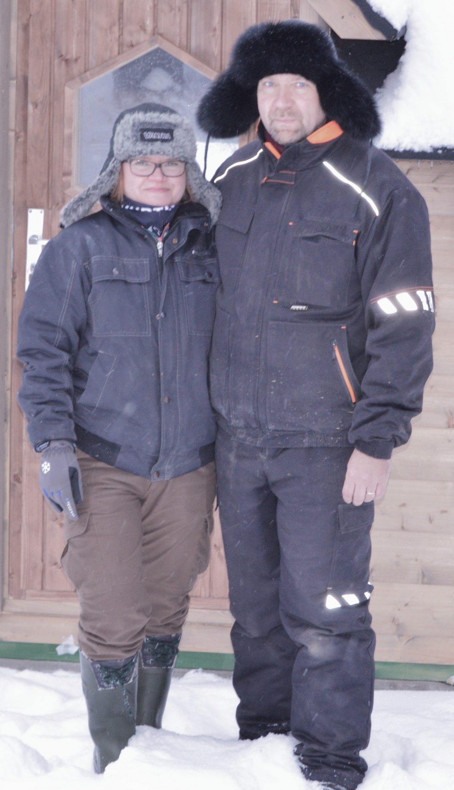 Katja and Jukka Alajärvi - Reindeer Farm Porohaka